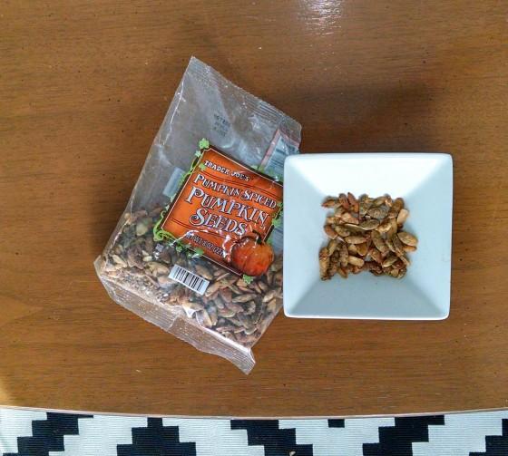 Trader Joes Pumpkin Spiced Pumpkin Seeds